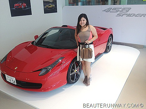 Ferrari 458 Spider Sportscar V8s F1 Singapore Luxury Car Italy retractable hard top Ital Auto Motorshow room 30 leng kee rd