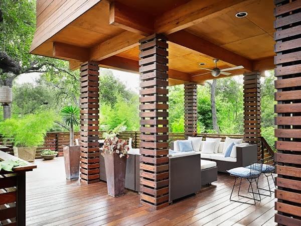 6 Maneras creativas de utilizar las columnas en tu hogar-10