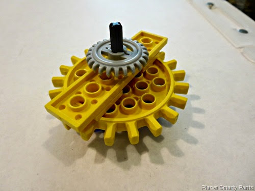 Lego-Drawbot-Gears