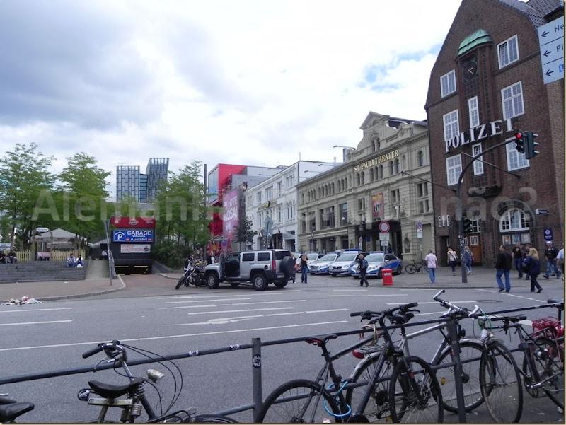 O bairro St. Pauli
