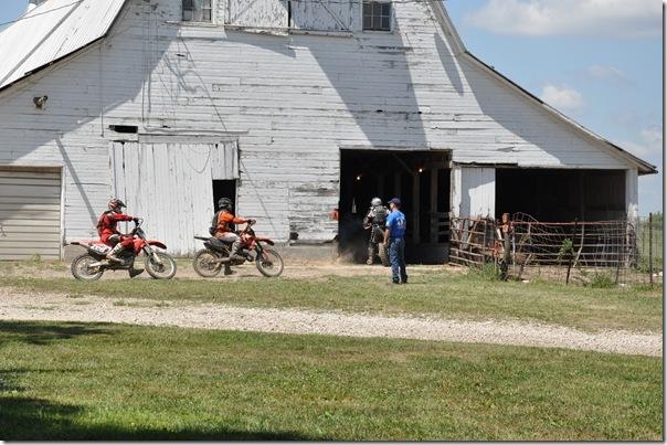 Bill Into Barn- Mt. Pleasant