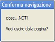 Evitare la chiusura accidentale delle pagine internet su Chrome