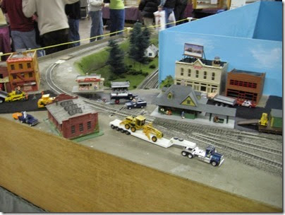 IMG_5363 Town Scene on the LK&R HO-Scale Layout at the WGH Show in Portland, OR on February 17, 2007
