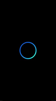 Blue ring iphone6 wallpaper