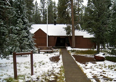 Paulina Visitor Center is closed