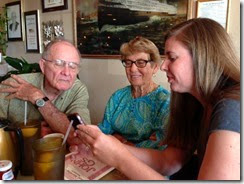 Don, Carolyn, Amy text lesson