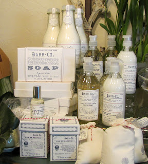 BARR Collection 3pc Bar Soap $32.00  Perfume $45.00 Bath Salt 1.25 $11.00  32oz $32.00 Lotion $30.00 Hand Soap $30.00