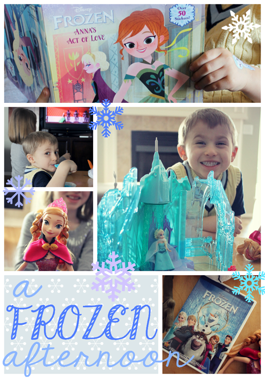 A frozen afternoon of fun with FROZEN at GingerSnapCrafts.com #FROZENfun #collectivebias #shop
