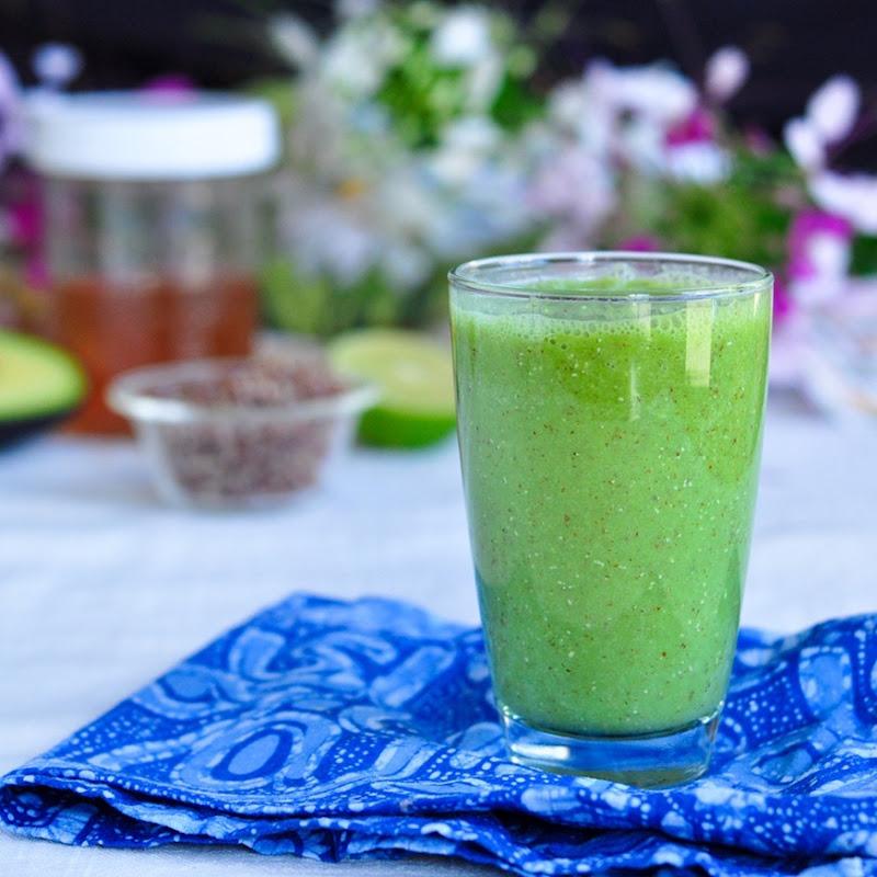 quinoa kale smoothie