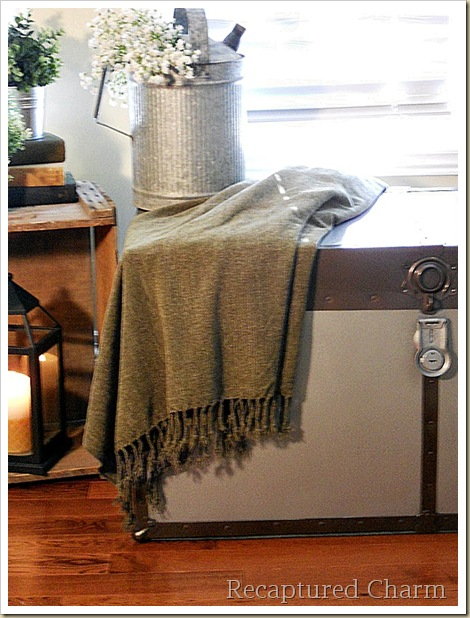 Metal Trunk Makeover 095a