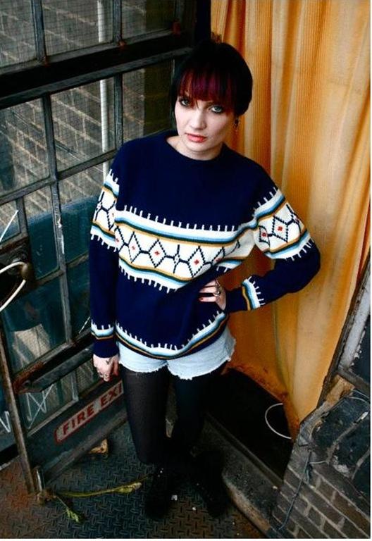 Vintage Icelandic Knit, £25, SpankT Vintage
