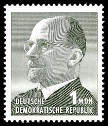 Briefmarke DDR - 1 MDN - Quelle: Wikipedia
