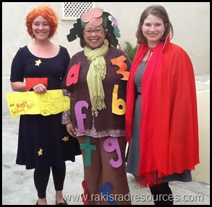 Book Character Dress up day - Mrs. Frizzle, Coconut Tree, Little Red Riding Hood