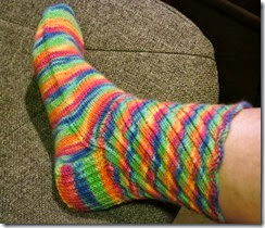 Socktoberfest Sock - side view