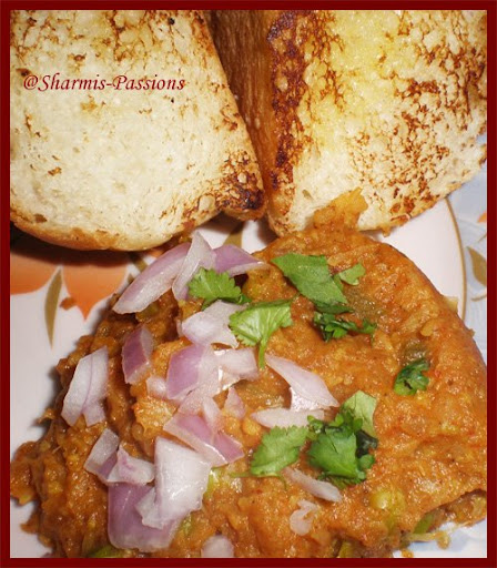 Sharmilee's Pav Bhaji http://sharmis-passions.blogspot.com/2009/03/my-fav-movie-with-my-fav-chat-mozhi.html