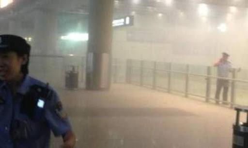Έκρηξη στο αεροδρόμιο του Πεκίνου