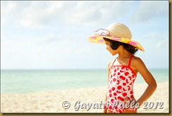 Richa at the Beach