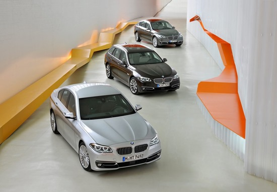 2014 BMW 5 series full range