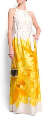 Flower halter dress2