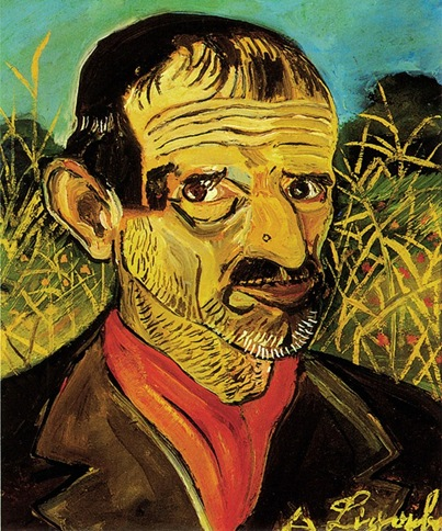 self-portrait-with-red-scarf-1956