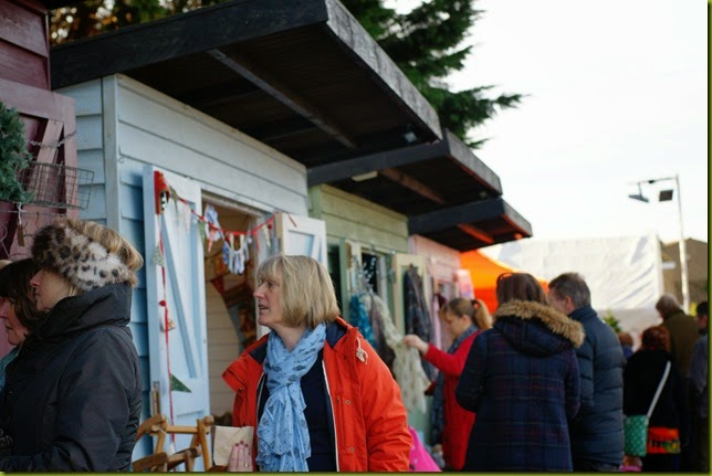 Dalegate Christmas market at Burnham Deepdale