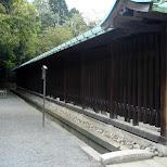 tiny moat around meiji jingu in Yoyogi, Tokyo, Japan