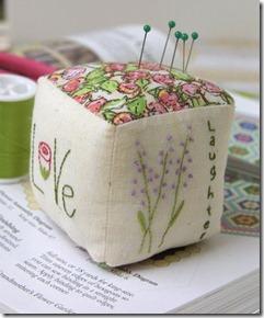 Love Sewing pincushion