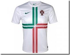 Portugal segunda equipación