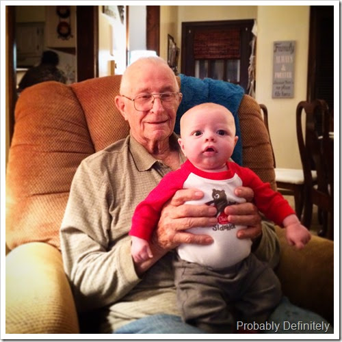 Great Grandpa Kramer & Reid