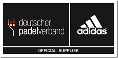 adidas sponsor oficial de la FEDERACION ALEMANA DE PADEL