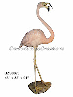 Flamingo w/ Open Mouth (Special Patina)