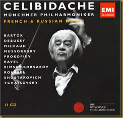 Prokofiev Sinfonía Clásica Celibidache EMI