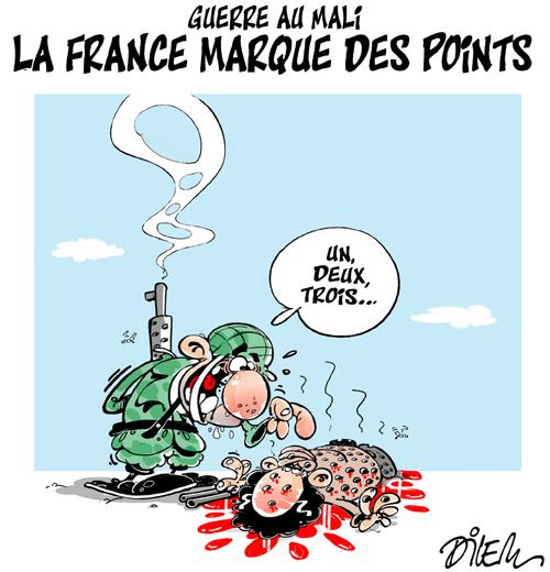 Guerre au Mali,La france marque des points