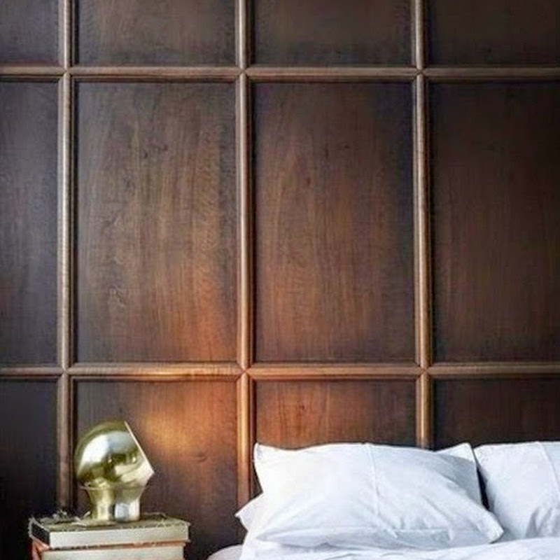 Wall paneled bedrooms