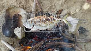 BBQ auf Sawa-I-Lau.