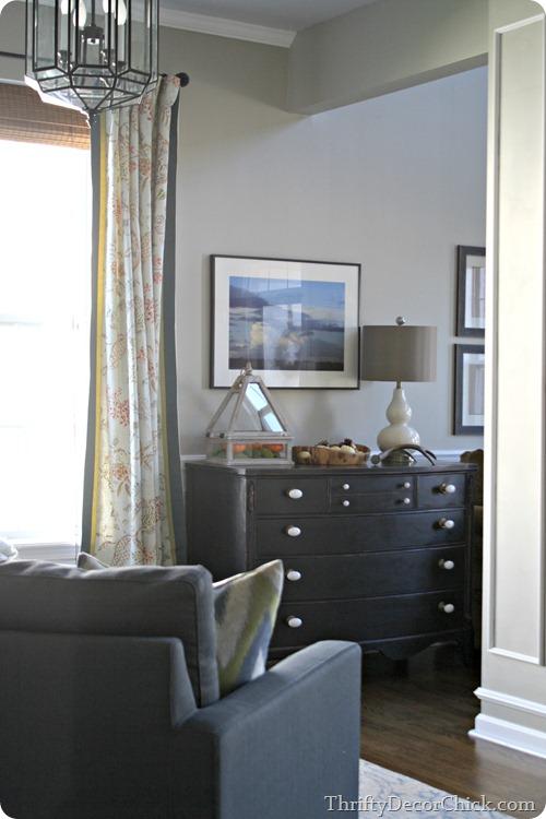 black dresser white hardware