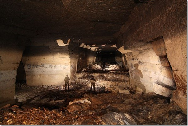 Francês da Primeira Guerra Mundial em um Bunker (4)
