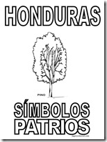 simbolos patrios honduras 2 jugarycolorear