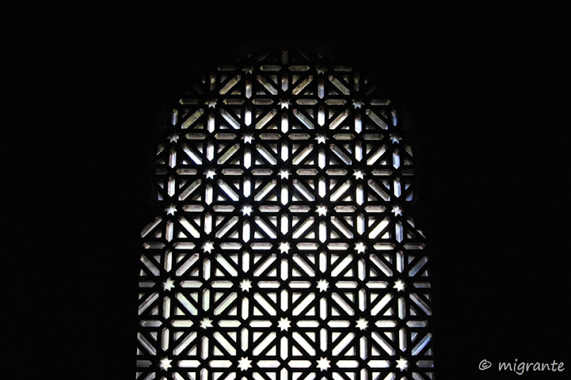 reja árabe - mezquita de córdoba
