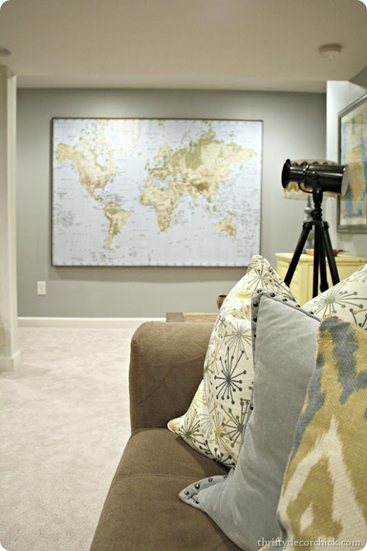 Where in the world have we been map from thrifty decor chick huge ikea map gumiabroncs Images