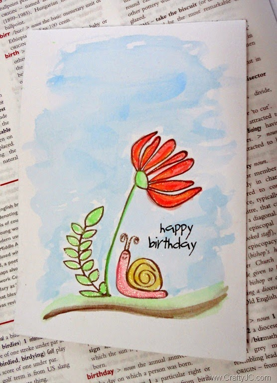 Happy Birthday with PTI Springtime Doodle