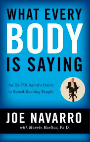 Cover of Joe Navarro's Book What Every Body Is Saying