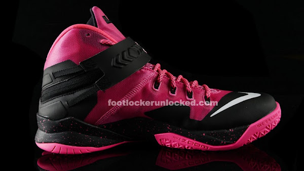 Release Reminder Nike Zoom LeBron Soldier 8 8220Think Pink8221