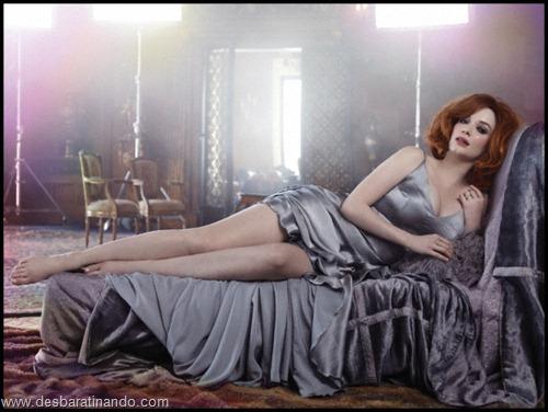Christina Hendricks linda sensual sexy sedutora decote peito desbaratinando (53)