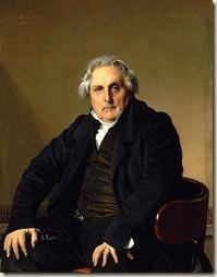 Louis-Francois Bertin par Ingres