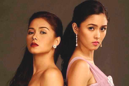 Maja Salvador and Kim Chiu