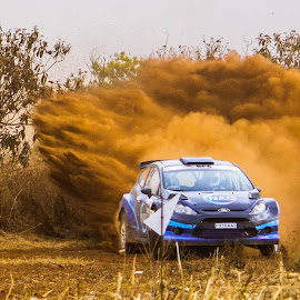 by William Louw - Sports & Fitness Motorsports ( south african rally car, racing, dust, racing car, s2000, ford, rally car,  )