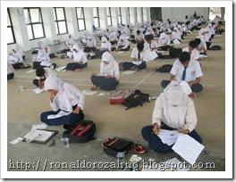 Seleksi Penerimaan Siswa Baru SMAN Pintar Tahun 2011
