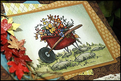 Fall Wheelbarrow side