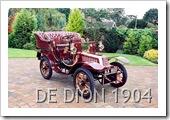 DE DION BOUTON 1904